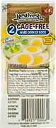 Two-pack of NestFresh Cage-Free Hard Cooked Eggs. Certified Cage Free.