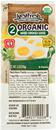 Two-pack of NestFresh Organic Hard Cooked Eggs. USDA Organic, peeled and ready to eat.