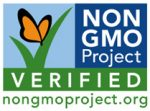 Non-GMO Project Verified logo. nongmoproject.org