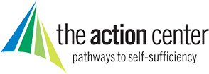 The Action Center logo. Providing pathways to self-sufficiency.
